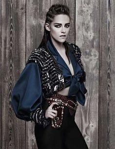Kristen Stewart for Chanel Metiers d'art Paris-Dallas 2013-4   Fashion, Trends, Beauty Tips & Celebrity Style Magazine   ELLE UK