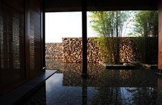 atelier li xiaodong creates a home in the water