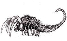 Scorpion Monster/ Stephen King Mist Creature 05 by KingOvRats on ...