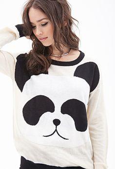 Giant Panda Sweater | FOREVER 21 - 2000099832 Panda❤️