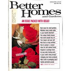 Cover Print of Better Homes and Gardens, April 1970 | $6.08