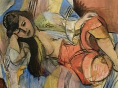 Henri Matisse (1869-1954), Odalisque (1920-21), oil on canvas. Via museumkijker.nl.
