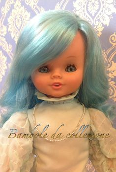 """""""Mariù ha gli occhi blu"""" bambola Sebino fine anni 70. SE hai maggiori info su questa bambola, contattami!"""