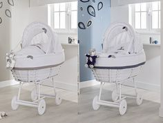 Stubenwagen modern liddy in baby bett umbaubar zur sitzgruppe