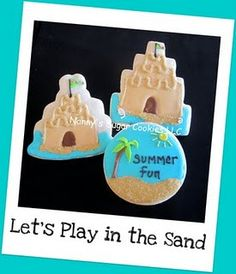 Tasty sand castles