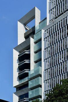 Banqiao Condominium, Taiwan by Shin Takamatsu