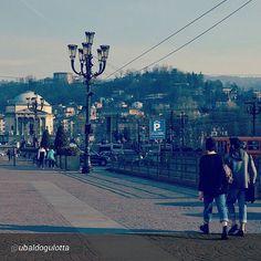 Foto di ubaldogulotta #inTO #ub1424r #piazzavittorio #torino #igers_torino #architecture #building #city #buildings #urban #design #art#beautiful #geometry #italy