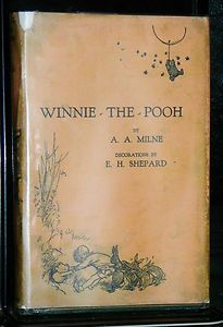 "Winnie the Pooh (1926).  A.A. Milne (1988-1956).  Methuen. 1st Edition with original dust cover.  ""Promise me you'll always remember: You're braver than you believe, and stronger than you seem, and smarter than you think."" (Milne)"