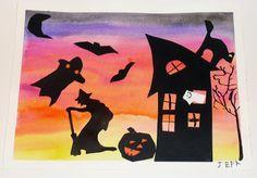 that artist woman: Halloween Art