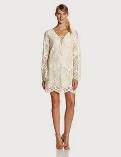 lace shift dress: Cream Lace Shift Dress