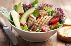 proteínový šalát recepty na chudnutie