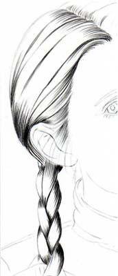 Stars Portraits - Tutorial Dessiner des cheveux