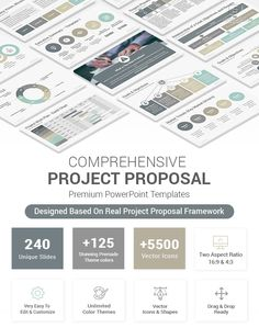 Best Project Proposal PowerPoint Template Project Proposal Template, Proposal Templates, Creative Powerpoint, Powerpoint Presentation Templates, Project Management Dashboard, Project Status Report, Problem Statement, Gantt Chart, List Of Activities