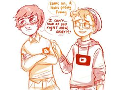 Youtube and blogger switch clothes :) youtube can't look at blogger cause he so cute. I can't handle it they so cute together #The Interwebs Series #blogger #youtube