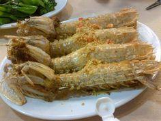 Mantis shrimps in HK