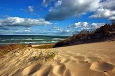 Indiana Dunes State Park, northern Indiana on Lake Michigan