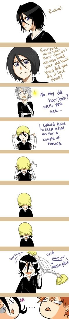rukia's hair secrets by Eliixer on DeviantArt