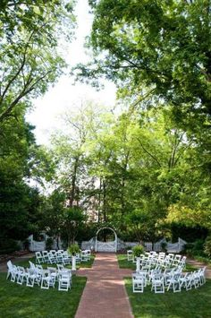 Love The Ceremony Seating Setup At One Of Most Beautiful Venues In Marietta
