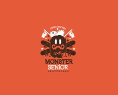 Monster Senior Skateboards company on Behance