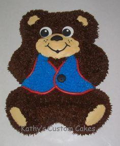 AWANA Cubbie Bear Cake