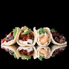 Happy Monday! Today we're bringing our Chilorio Taco (pictured 2nd from left) and much more to lunch in #Irvine. From 11A to 2P we will be proudly grilling once more at Von Karman Airport Tower (18881 Von Karman, Irvine CA) and we hope you can join us.  More info: http://www.sohotaco.com/2014/12/08/a-terrific-line-up-of-chilorio-tacos-and-more-for-lunch-today-in-irvine  #tacocatering #ocfoodies