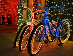 bicycle in lights!