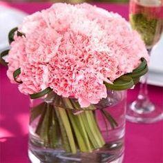 flores tipos mas comunes para eventos - centro mesa clavel