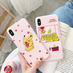 (Sponsored Link) Funny Cartoon Phone Case For Samsung plus Edge Smartphone Case, Case Iphone 6s, Cell Phone Covers, Iphone Case Covers, Pikachu, Orange Design, Samsung, Ali Express, A30