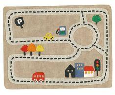 Pista autos autitos hot wheels carreras juguetes zona - Alfombra circuito coches ...