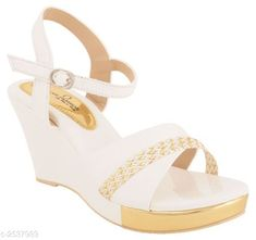 Checkout this latest Heels & Sandals Product Name: *Stylish Women's Wedges* Sizes:  IND-3, IND-4, IND-5, IND-6, IND-8 Country of Origin: India Easy Returns Available In Case Of Any Issue   Catalog Rating: ★4.1 (1168)  Catalog Name: Femme Ethnic Women's Heel Sandals Vol 5 CatalogID_341892 C75-SC1062 Code: 315-2537989-2901