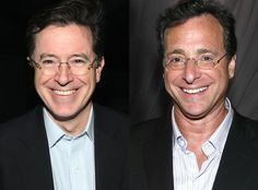 stephen colbert bob saget | Stephen Colbert & Bob Saget from Celebrity Look-Alikes | E! Online
