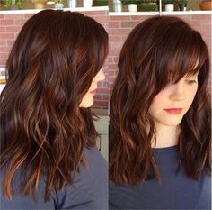 Spicy Auburn Color with Dimension and Shine