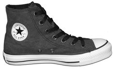 Converse® All Stars® Chuck Taylor® High Vintage Material Black