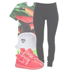 trumpets -read description- by twerkinwitray on Polyvore featuring polyvore, fashion, style, Helmut Lang, NIKE and Stussy