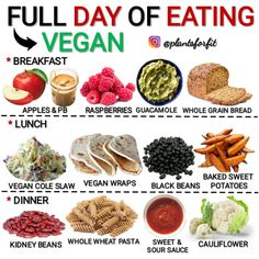The next time somebody asks What do vegans eat? send them this! Vegan Foods, Vegan Dishes, Vegan Vegetarian, Vegan Recipes, Vegan Meal Plans, Vegan Meal Prep, Keto Meal Plan, Loose Weight Meal Plan, Vegan Wraps