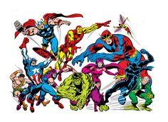 The Avengers by John Buscema.