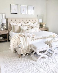 Home Remodel Bedroom .Home Remodel Bedroom Cozy Bedroom, Dream Bedroom, Home Decor Bedroom, Modern Bedroom, Contemporary Bedroom, Taupe Bedroom, Feminine Bedroom, Neutral Bedrooms, French Bedroom Decor