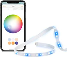 Eve Light Strip - Tira de luz LED inteligente, luz blanca de espectro completo y a color, 1800 lúmenes, no necesita centralita (Apple HomeKit) Apple Tv, Apple Homekit, Luz Led, Led Light Strips, Kit Homes, Iphone, Accent Furniture, Strip Lighting, Flooring