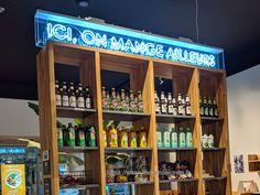 Enseignes Néon Woko Liquor Cabinet, Fabricant, Lyon, Storage, Furniture, Home Decor, Applique Letters, Purse Storage, Decoration Home