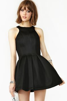 Under Control Dress in Black