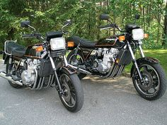 Kawasaki KZ1300. Years made: 1979-1982  Claimed power: 120hp @ 8,000rpm. Top speed: 140mph. Engine: 1,286cc DOHC liquid-cooled inline 6. Weight (wet): 710lb (322kg). Wheelbase: 62.5in (1,588mm) Width: 25.25in (641mm). 1/4 mile, sec/mph: 11.79/115.68. MPG: 35-45
