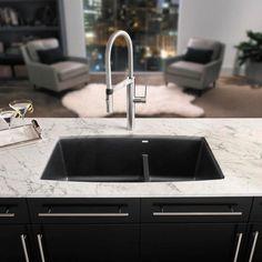 Blanco Performa 1 3/4 Medium Bowl Granite Composite Sink In Silgranit U2013  Showroom
