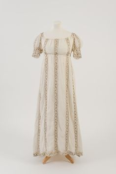 1810s dress, from Bath Fashion Museum