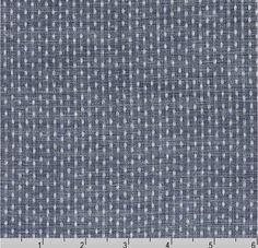 Chambray Union Indigo Fabric 57 inches wide by BrooklynDollFabric