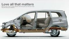 AN TOÀN TUYỆT ĐỐI Toyota Innova mới 2014 sử dụng các hệ thống an toàn chủ động và thụ động chuẩn mực để bảo vệ tối ưu cho hành khách. Hệ thống phanh đĩa thông gió ở bánh trước giúp tránh hiện tượng mất phanh kết hợp với phanh sau tang trống và được sự hỗ trợ của van phân phối lực phanh theo tải trọng đảm bảo phanh an toàn. Hệ thống chống bó cứng phanh ABS giúp bánh xe không bị bó cứng ngay cả khi phanh gấp trên đoạn đường trơn trượt, tăng tính an toàn lên mức tối đa