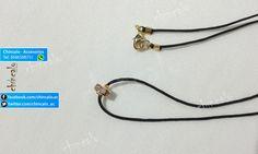 Collar Referencia: coll6 Valor: $6.000 Para: Mujer o Niña Material: Cordón y oro Goldfield Cuidados: No mojar y evitar el contacto con perfumes