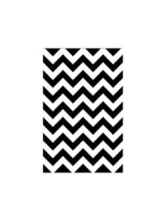 Black & White Chevron Table Cover - Party Supplies and Themed Tableware