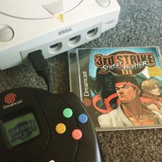 On instagram by cartridgecartel #dreamcast #microhobbit (o) http://ift.tt/2pc6q30 a sweet deal in the wild today for a super crispy copy of 3rd strike just in time for me to brush up on Urien for SFV! #streetfighter3rdstrike #streetfighter #sega  #segadreamcast