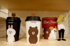 Line Friends Cafe & Store in Garosugil