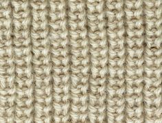 Half Brioche Stitch. Using this in two colors for a fall lavender scarf.